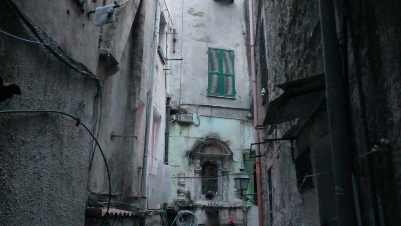 La Pigna Sanremo Italy, window