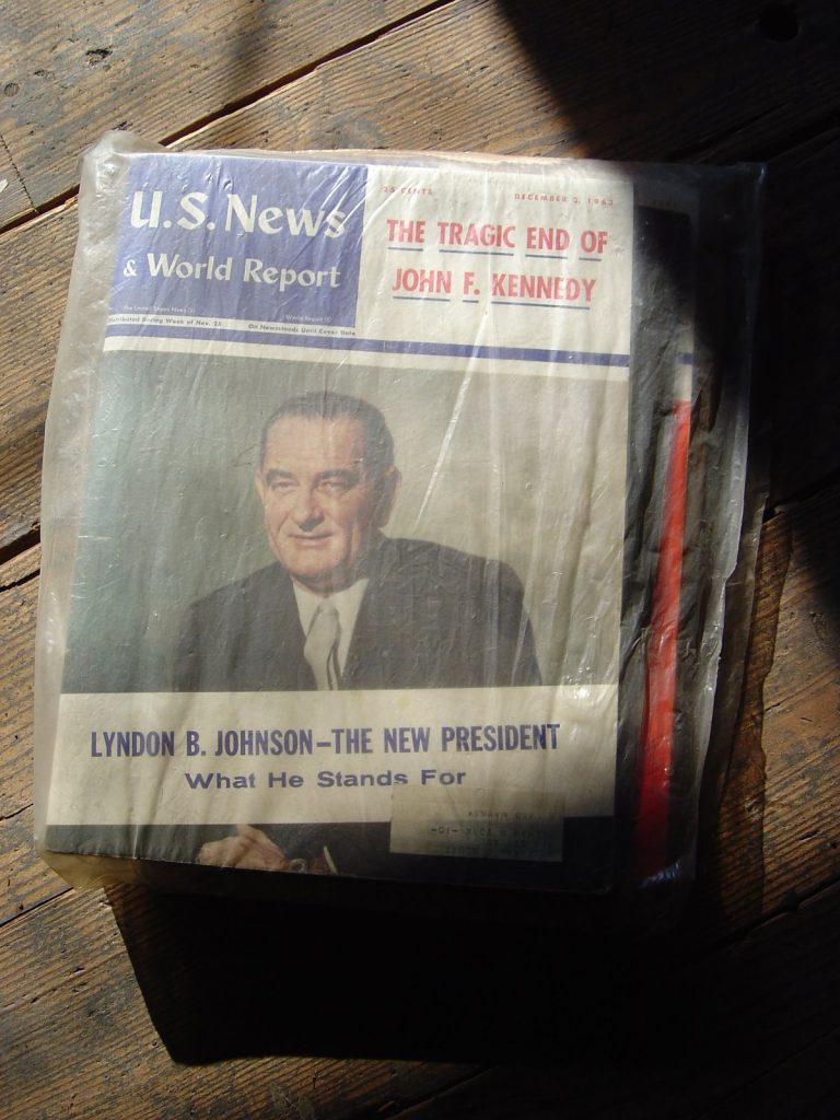 U.S. News & World Report, Tragic End of John F. Kennedy 1963