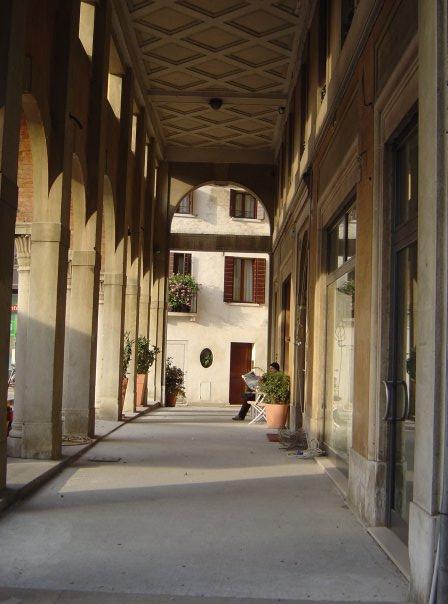 Portico in Treviso, Italy