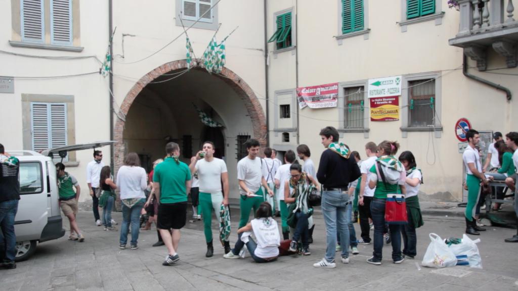 Pre-Joust Rituals in Arezzo
