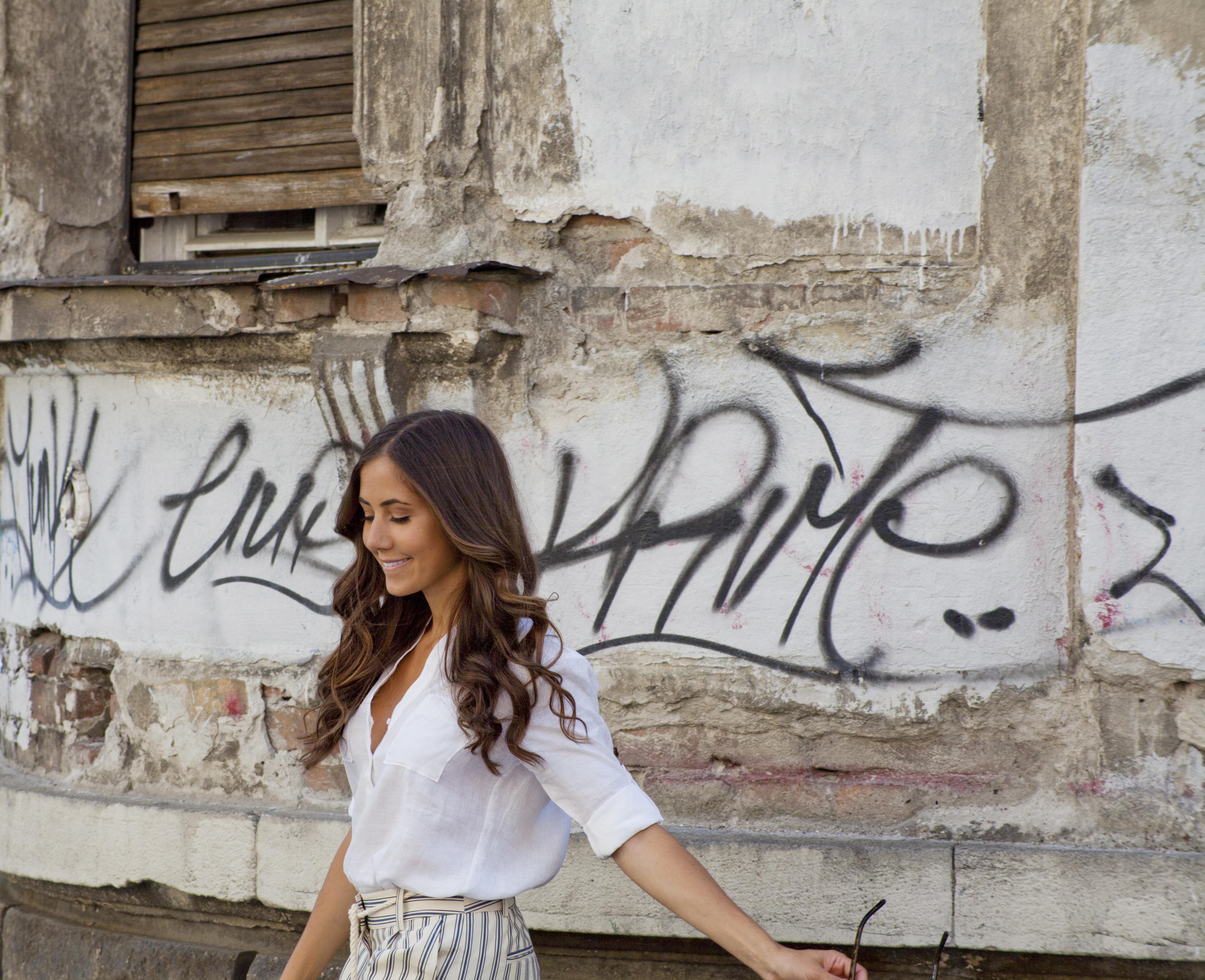 Courtney Scott Belgrade Wall Walking