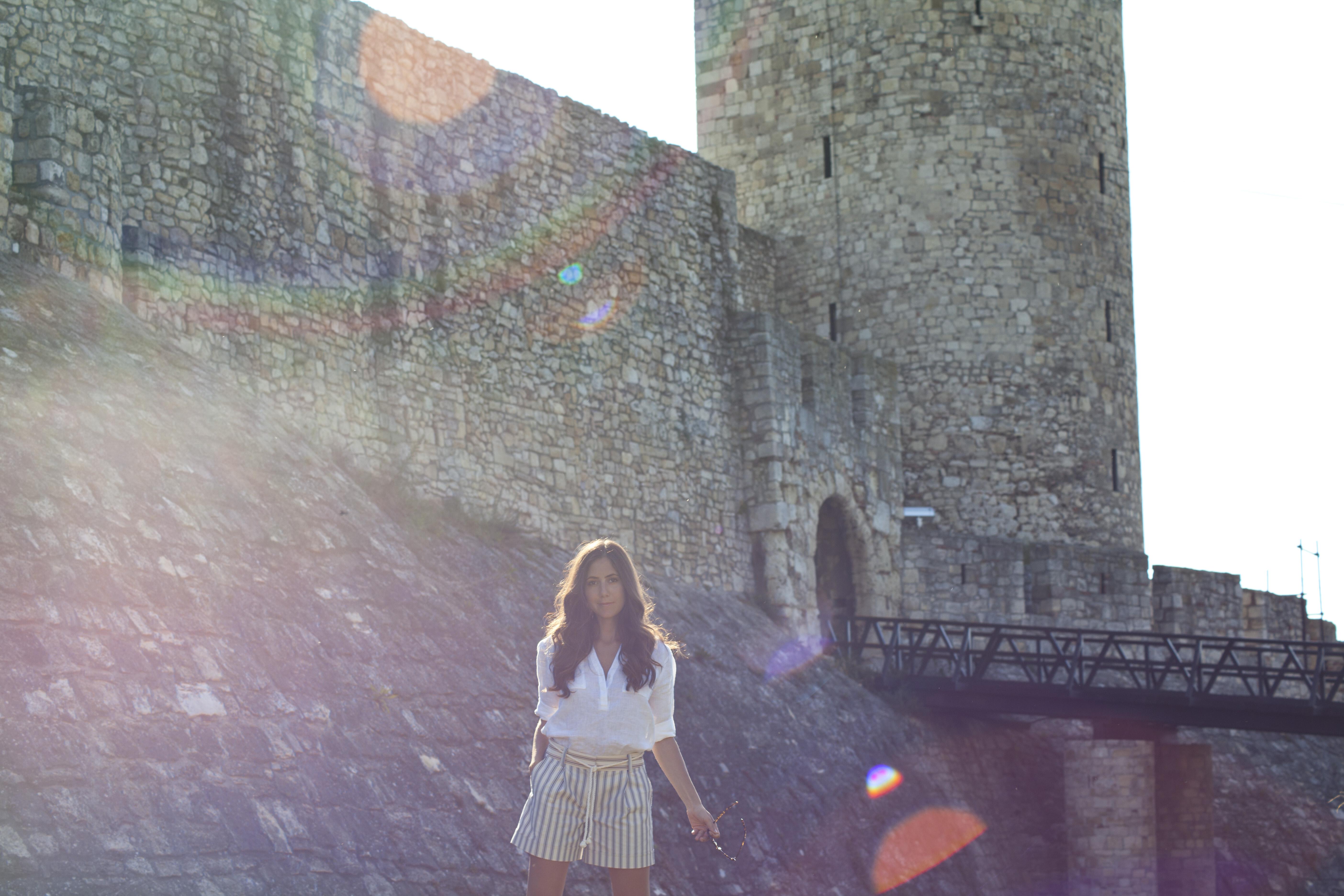 Courtney Scott Belgrade lens flare castle
