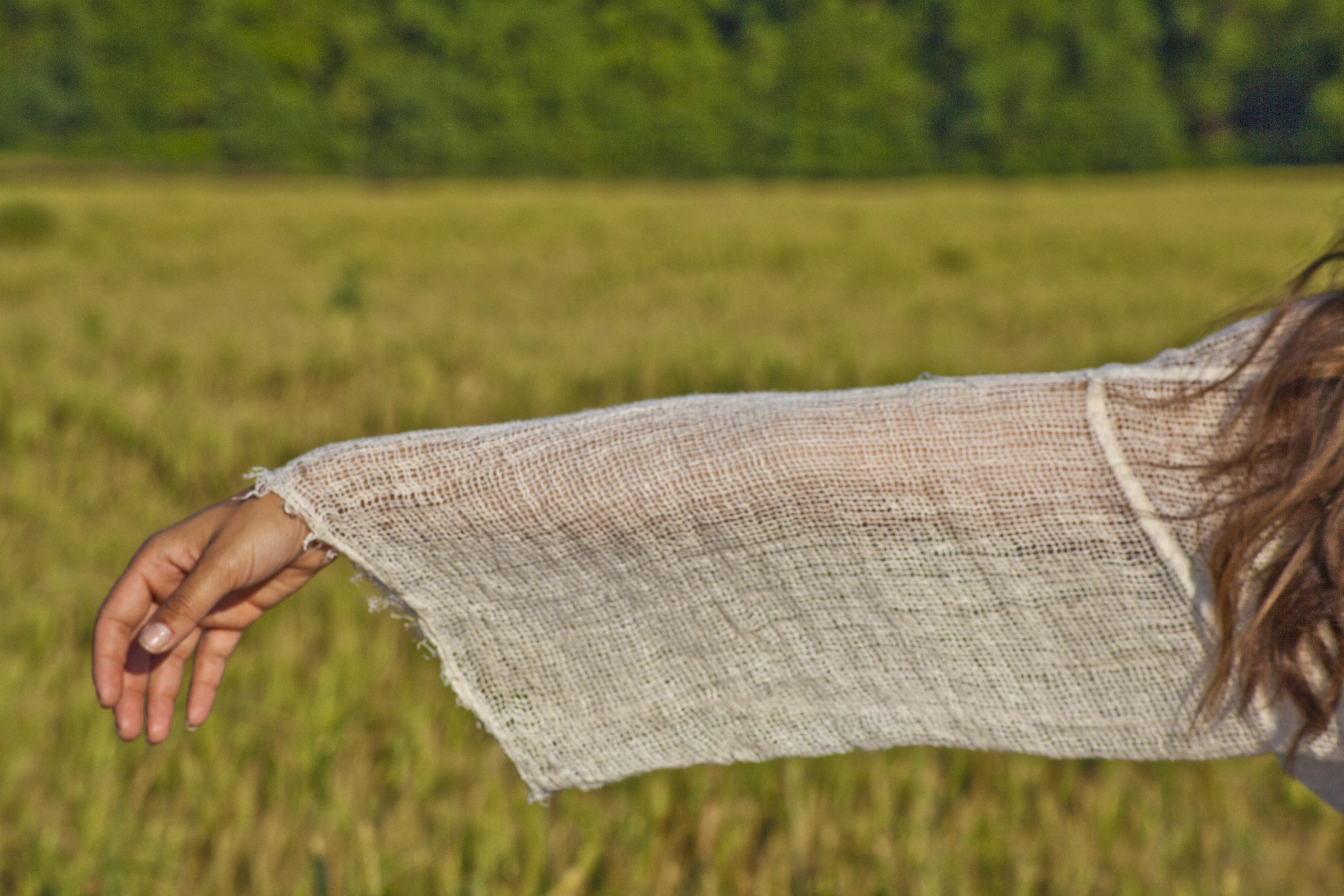 La Bottega di Brunella Linen Wrap