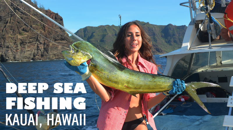 Let 39 s roam kauai deep sea fishing for Fishing in kauai