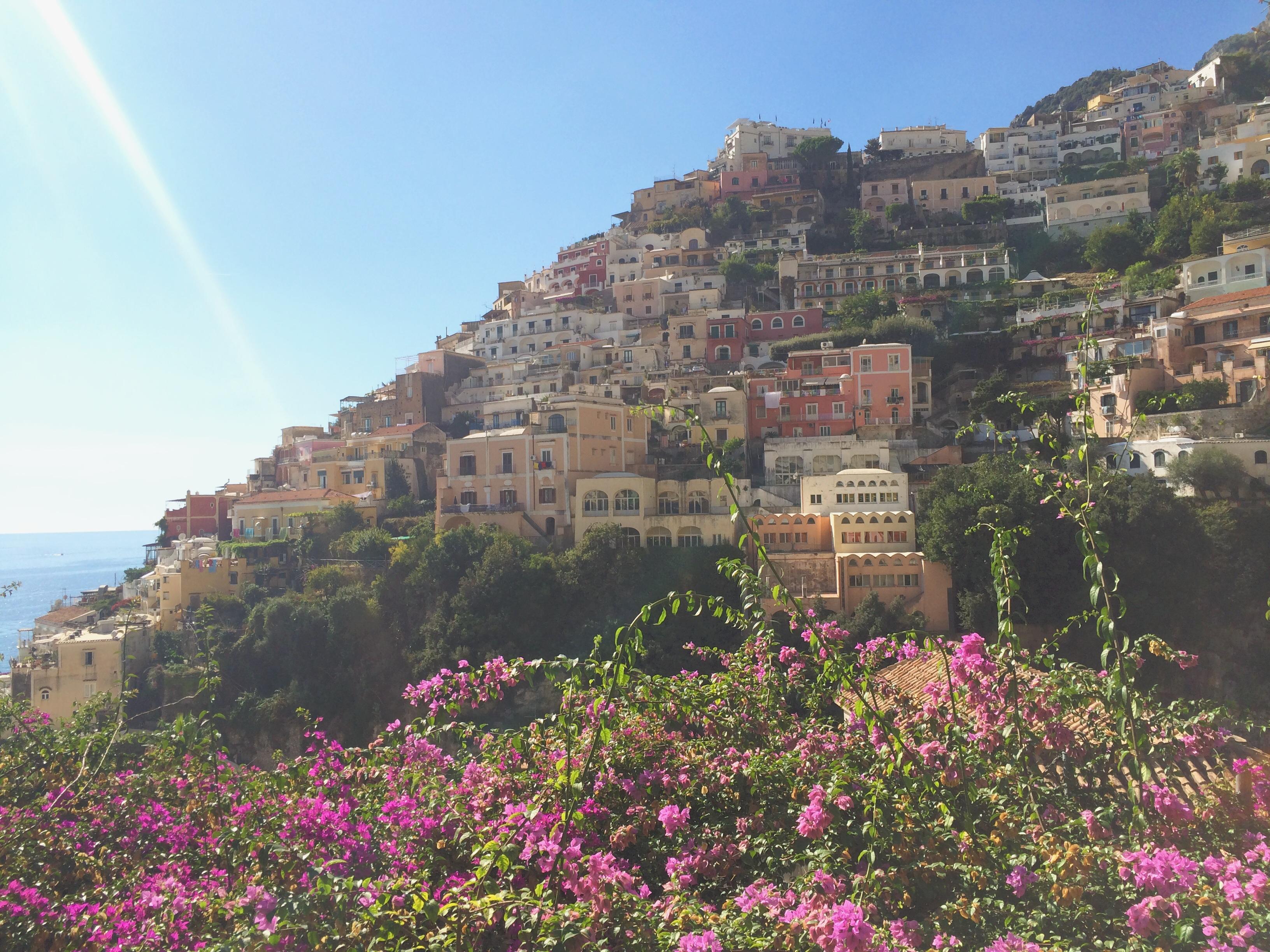 Positano View Amalfi Coast