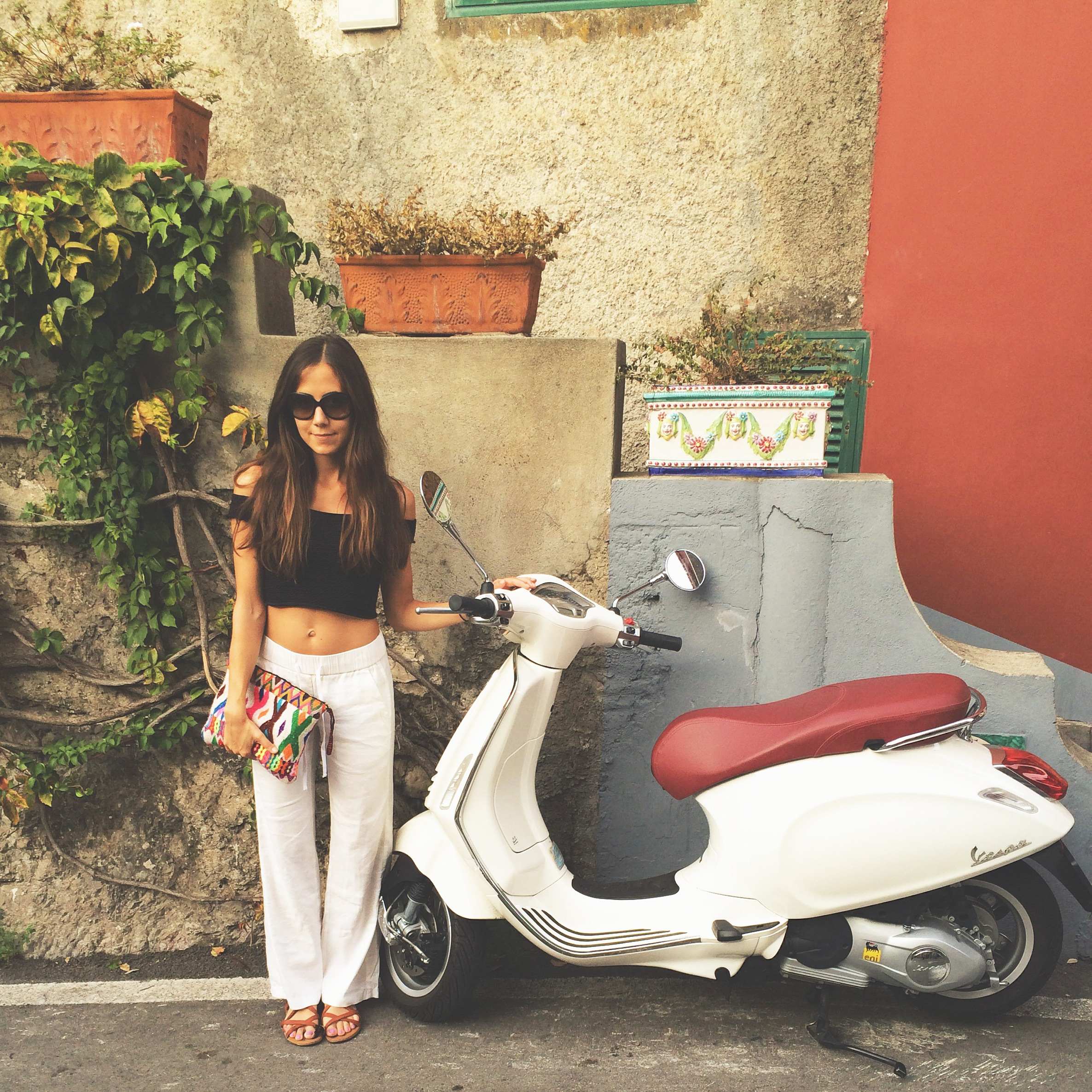 Positano Italy Vespa Courtney Scott Travel