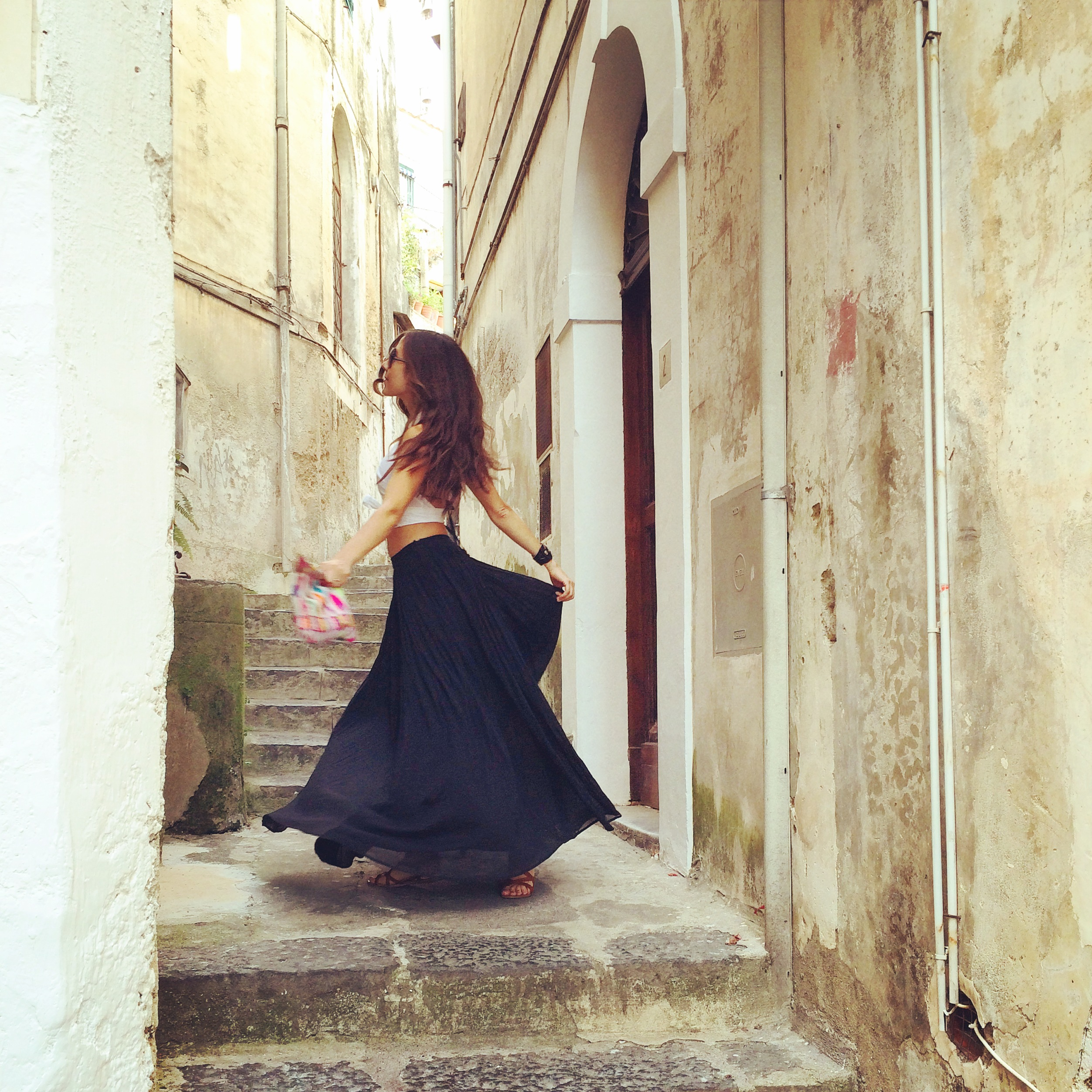 Positano Italy Street Alley Dancing
