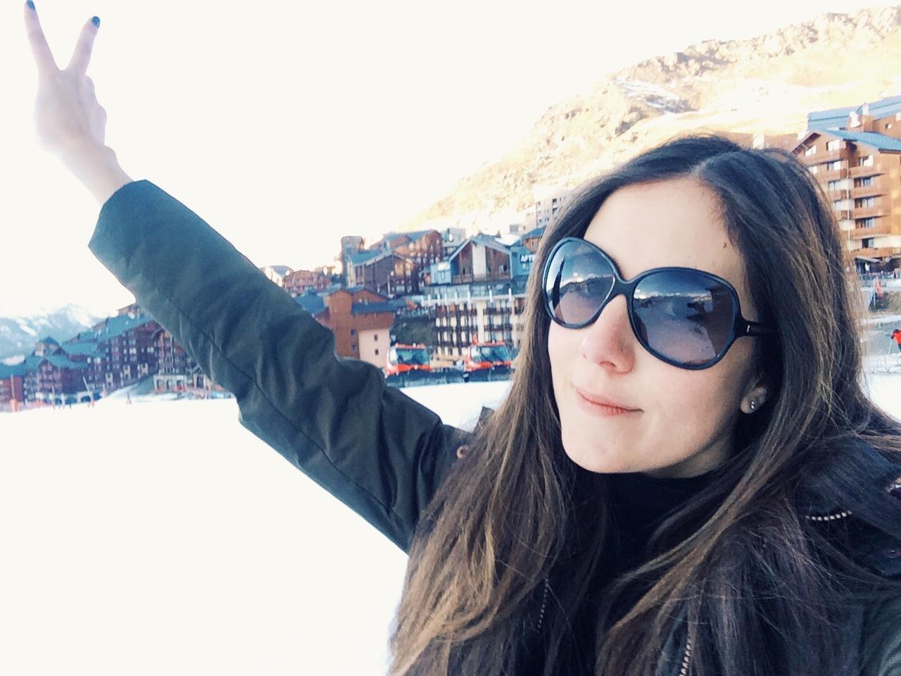 Val Thorens Ski selfie