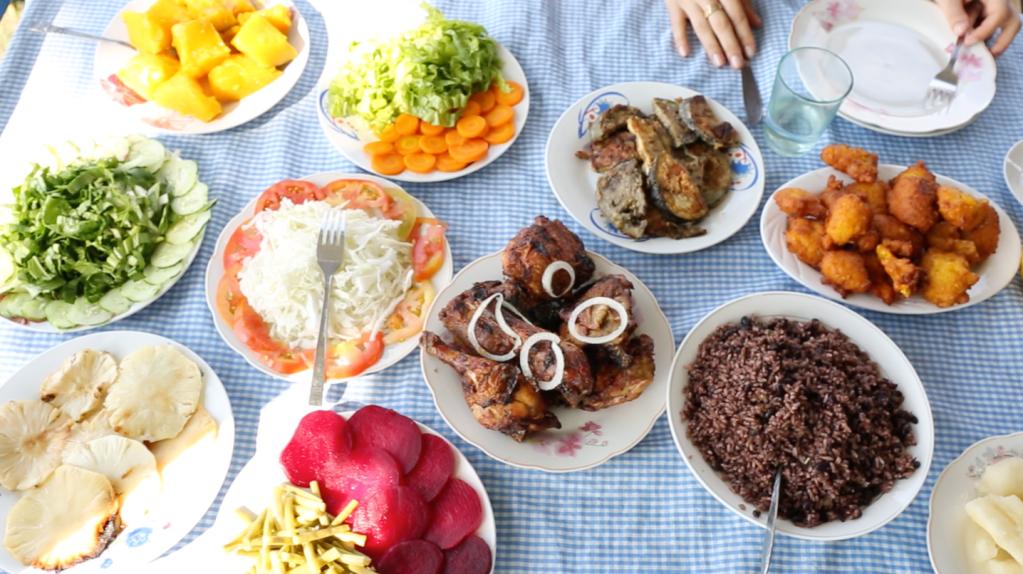 Cuban Food El Paraiso Vinales
