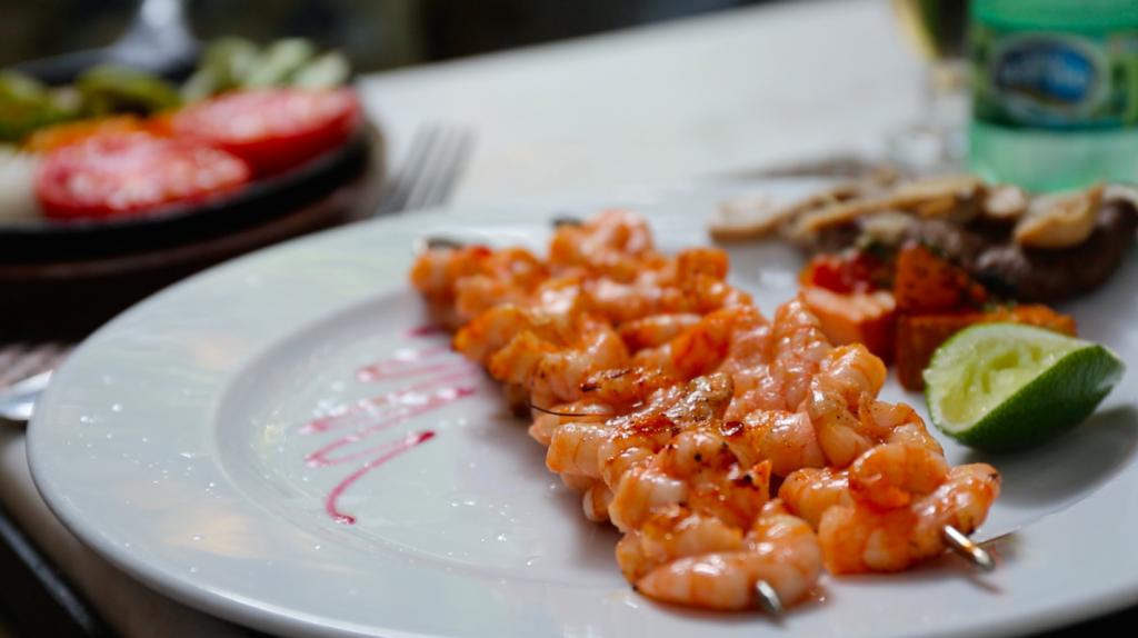 La Fontana Havana Grilled Shrimp