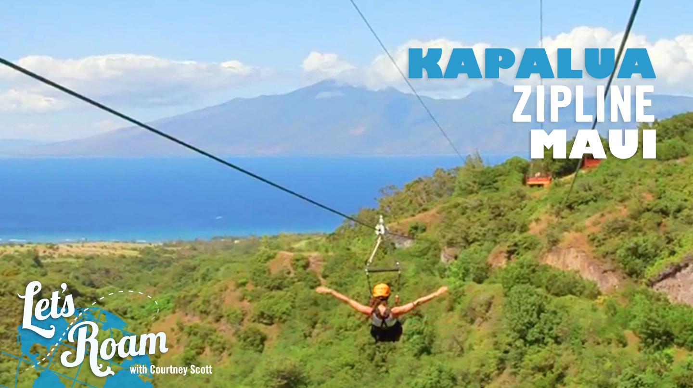 Things To Do In Maui Kapalua Zipline