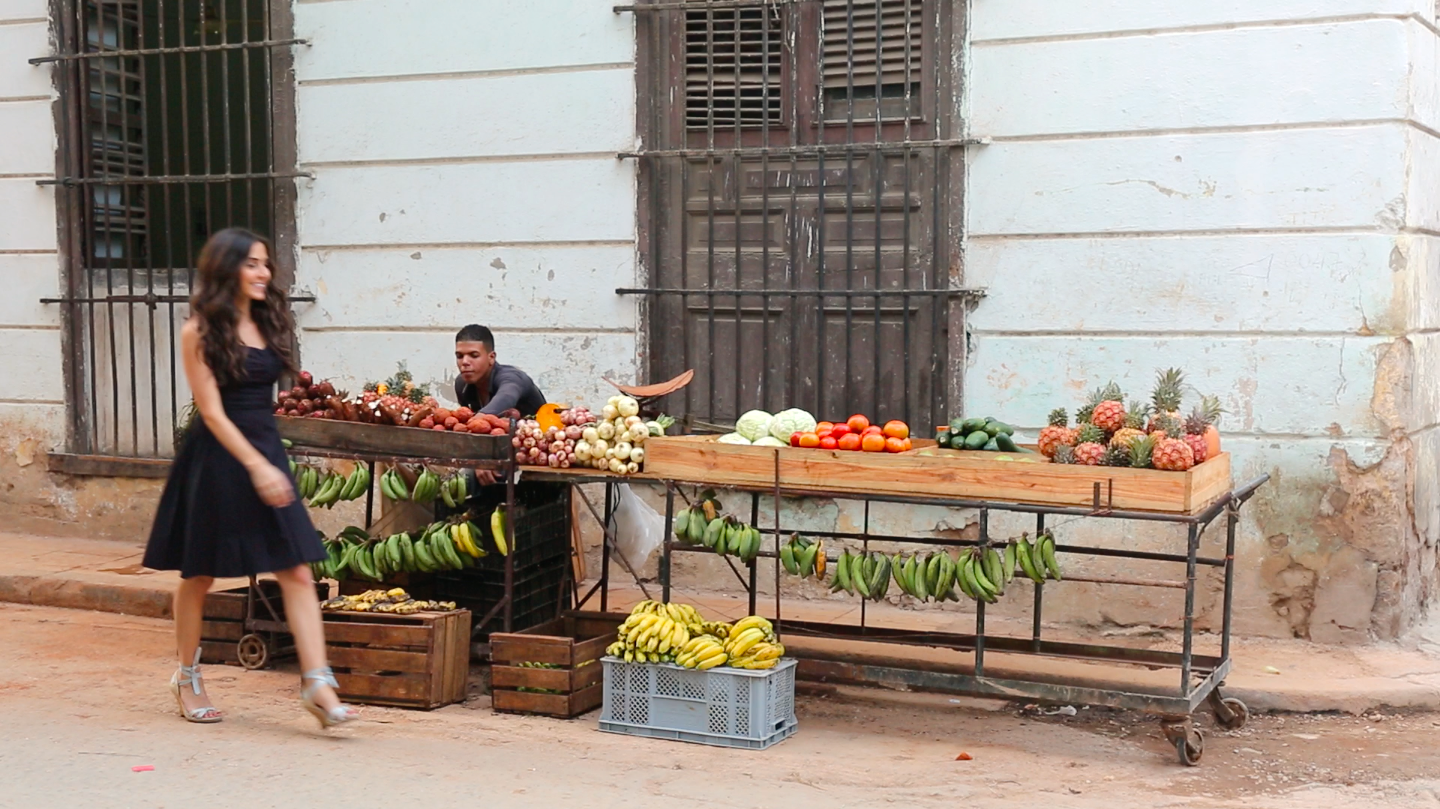 Cuban Fruit Market