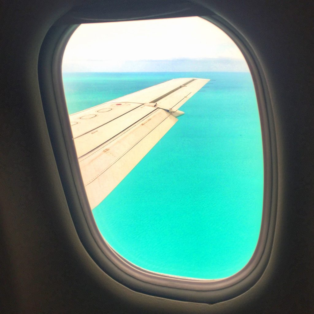 Window Seat over Bimini