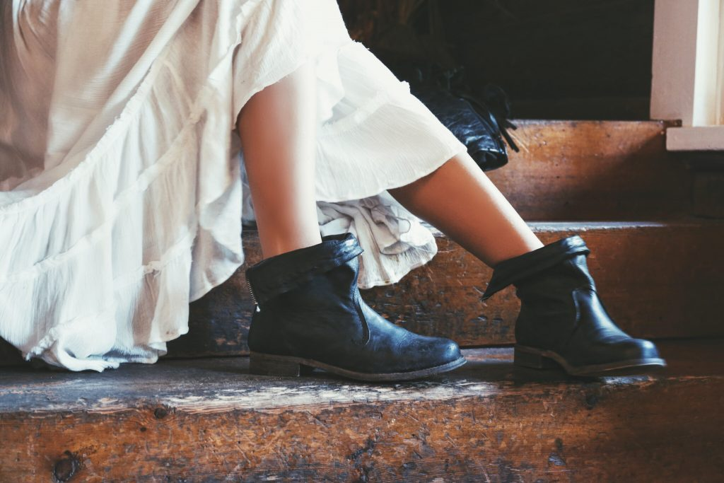Free People Black boots