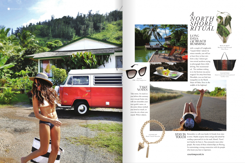 Courtney Scott Travel Blogger Chloe Magazine Page 2