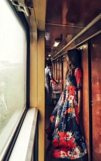 Night train in Hanoi